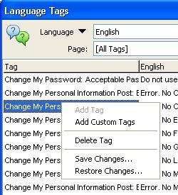 Add Custom Tags